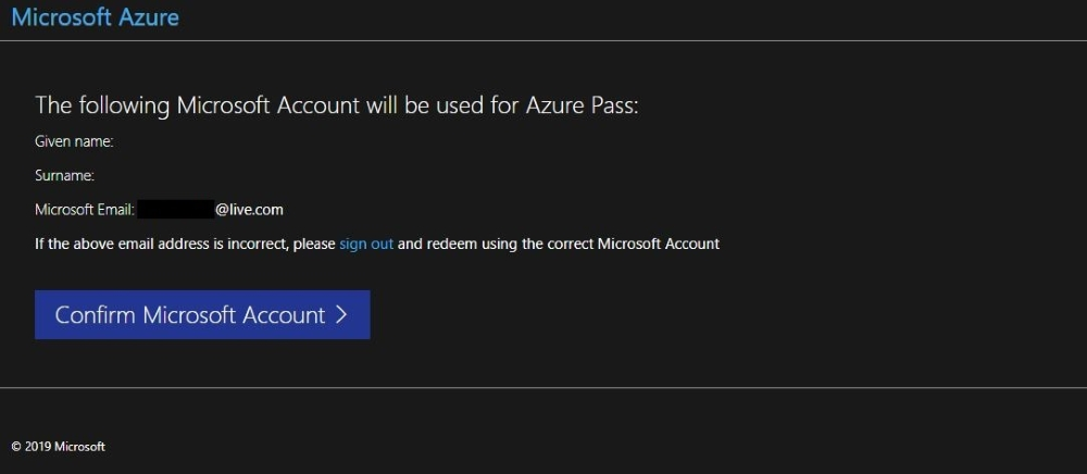 Redemption Process Guide - Microsoft Azure Pass